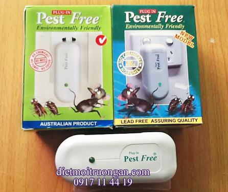 Thiết bị đuổi chuột Sóng điện từ Pestfree